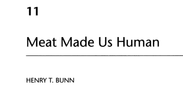 Bunn in Evolution of the human diet Ungar 2004 (3)