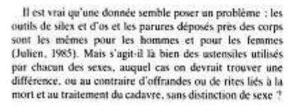Sophie A de Beaune pb des sépultures
